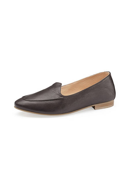 Damen Slipper aus Leder