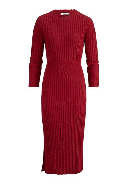 Damen Strickkleid aus Leinen und Bio-Baumwolle