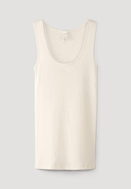 Damen Trägerhemd ModernNATURE aus reiner Bio-Baumwolle