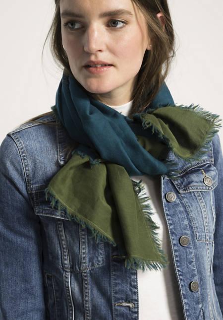 Damen Tuch aus reiner Bio-Baumwolle
