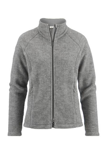 Damen Wollfleece-Jacke aus reiner Bio-Schurwolle