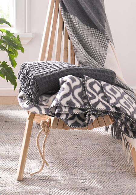 Decke Calla aus reiner Bio-Baumwolle