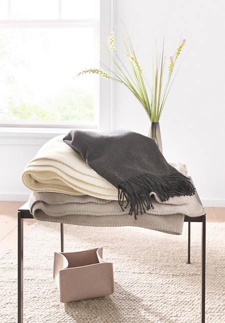Decke Göteborg aus reiner Bio-Baumwolle