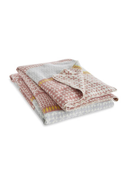 Decke Lissabon aus reiner Bio-Baumwolle