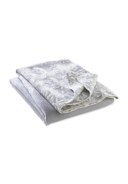 Decke Stella aus reiner Bio-Baumwolle