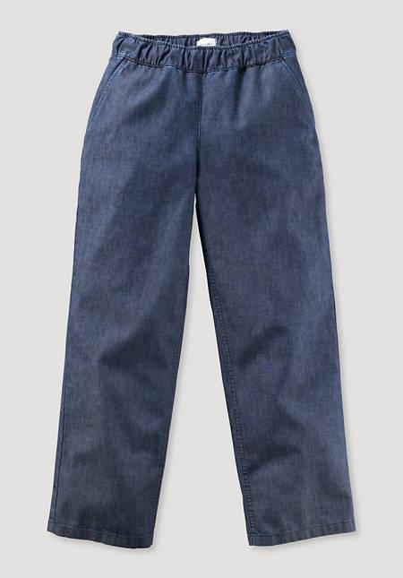 Denim-Hose aus reiner Bio-Baumwolle