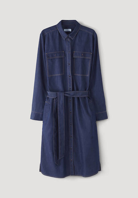 Denim dress made from pure organic cotton