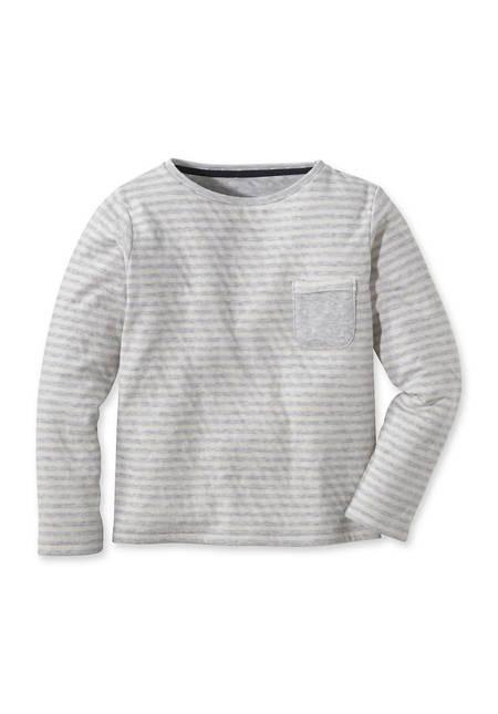 Doubleface Shirt aus reiner Bio-Baumwolle