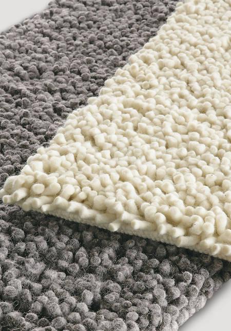 Dyke sheep pile carpet made of pure new wool