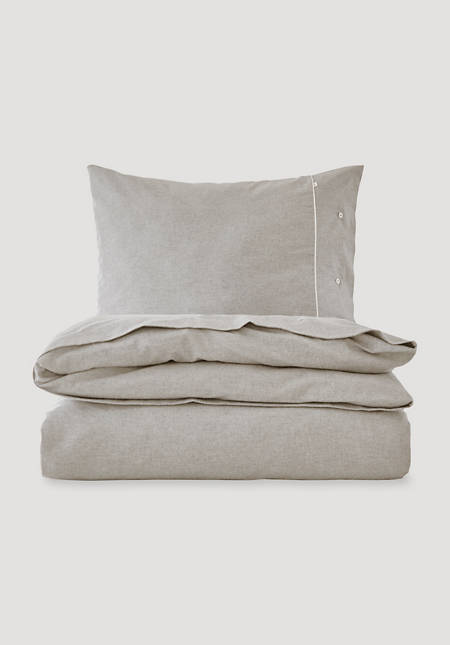 Fine flannel bed linen St. Moritz made from pure organic cotton
