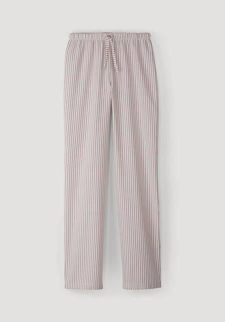 Flanell-Pyjamahose aus reiner Bio-Baumwolle