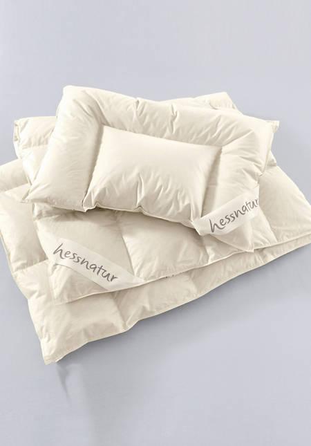 Flat down pillow