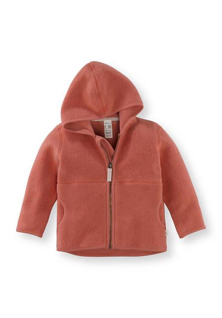 Fleece Jacke aus reiner Bio-Baumwolle