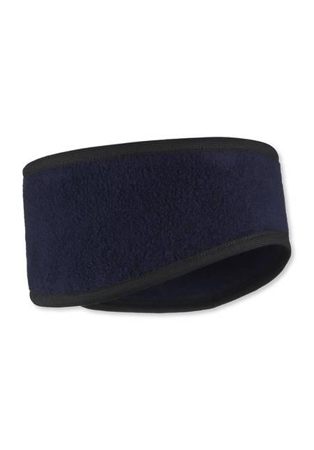 Fleece-Stirnband aus reiner Bio-Baumwolle