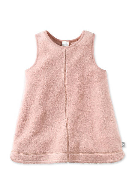 Fleece- Kleid aus reiner Bio-Baumwolle