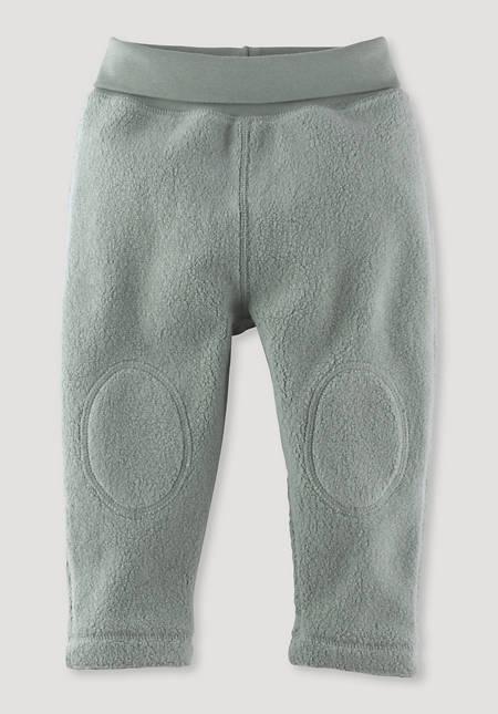 Fleece pants made of pure organic cotton