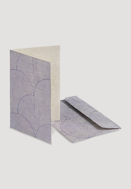 Folded greeting card Samu