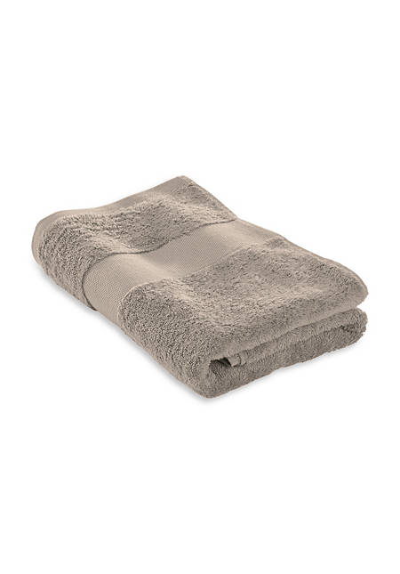 Frottee-Duschtuch aus reiner Bio-Baumwolle