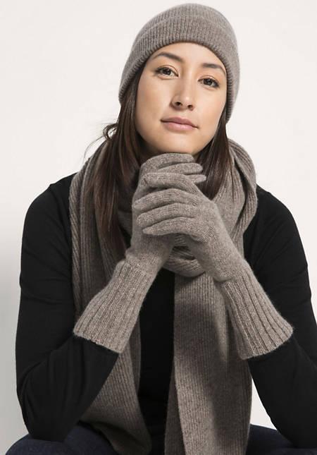 Handschuhe aus reiner Yakwolle
