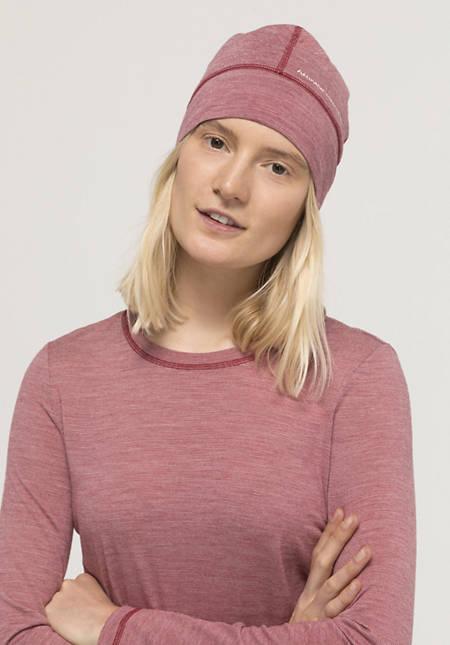 Hat made from pure organic merino wool