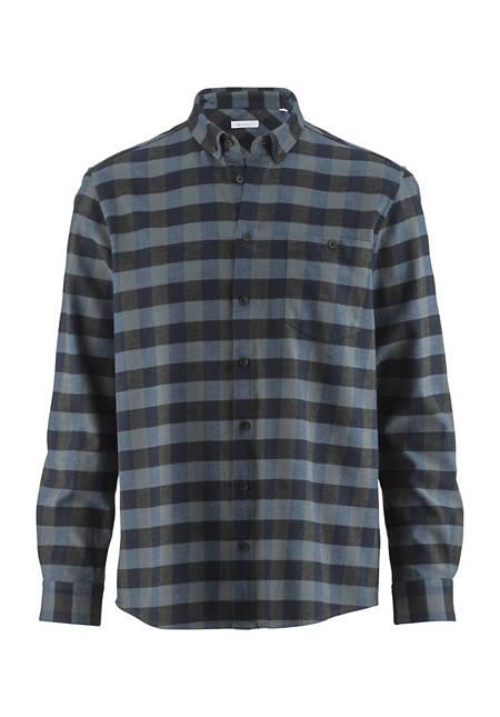 Hemd Comfort Fit aus Bio-Baumwolle mit Hanf