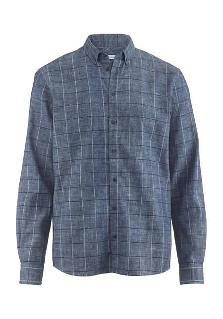 Hemd Modern Fit aus Hanf und Bio-Baumwolle