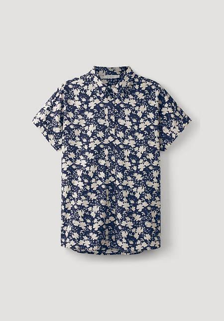 Hemdbluse aus reiner Bio-Baumwolle