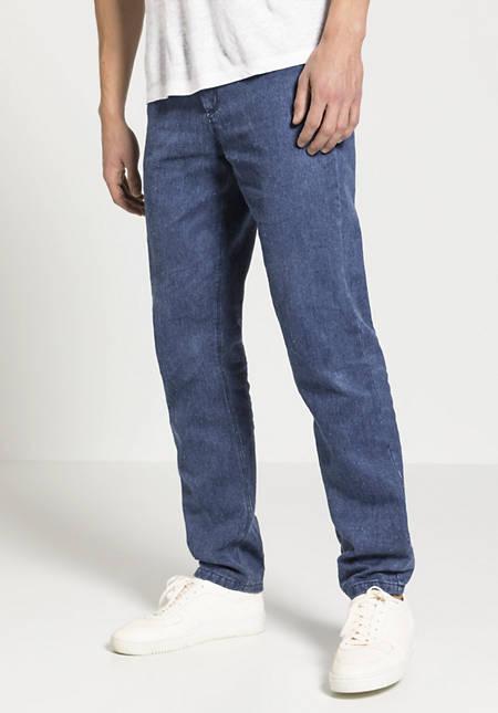 Hemp jeans with organic cotton
