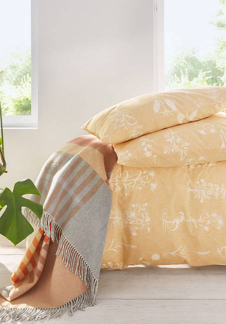 Herbaria percale bed linen made from pure organic cotton