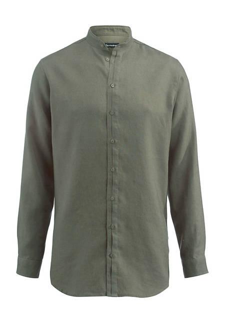 Herren Hemd Modern Fit aus reinem Leinen