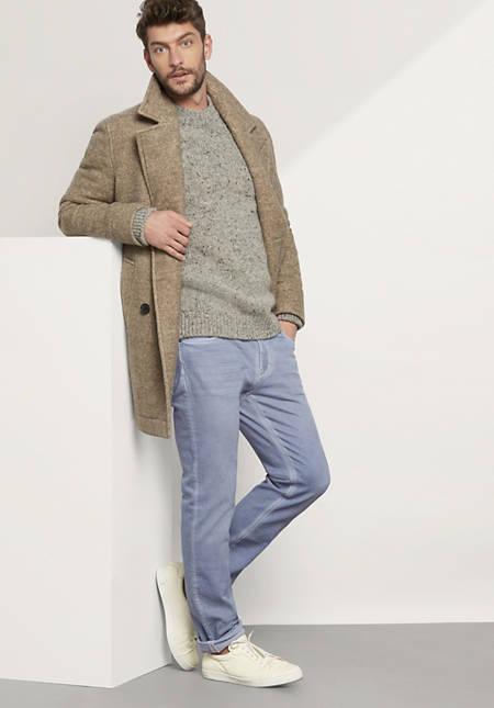 Herren Jeans Straight Fit Coloured aus Bio-Baumwolle