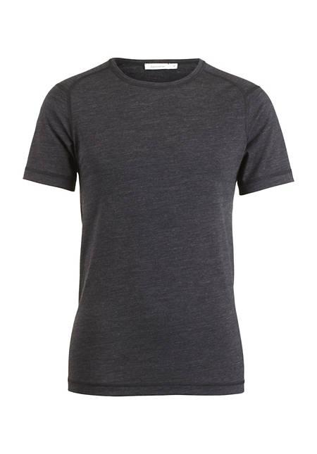 Herren Kurzarm-Shirt aus Merinowolle