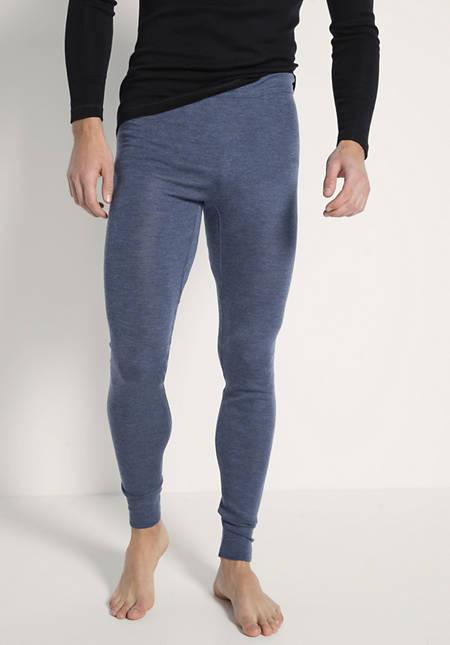 Herren Lange Pants PureWOOL aus reiner Bio-Merinowolle