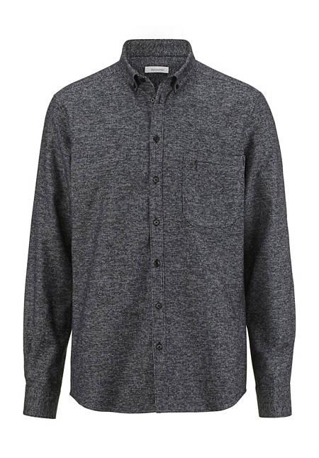 Herren Overshirt Hemd Modern Fit aus reiner Bio-Baumwolle