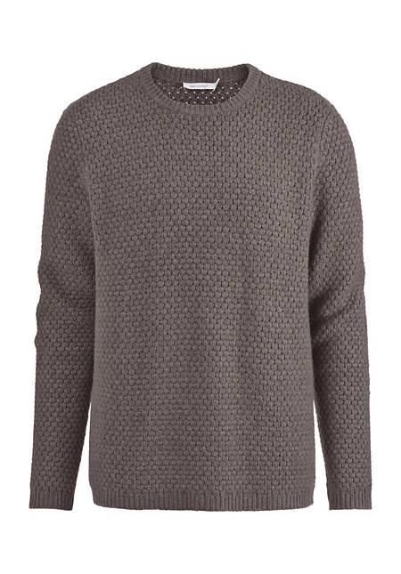 Herren Pullover aus reiner Yak-Wolle
