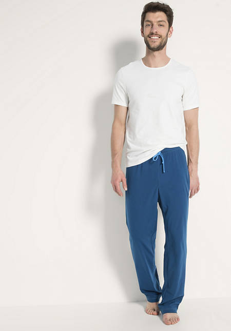 Herren Pyjamahose aus reiner Bio-Baumwolle