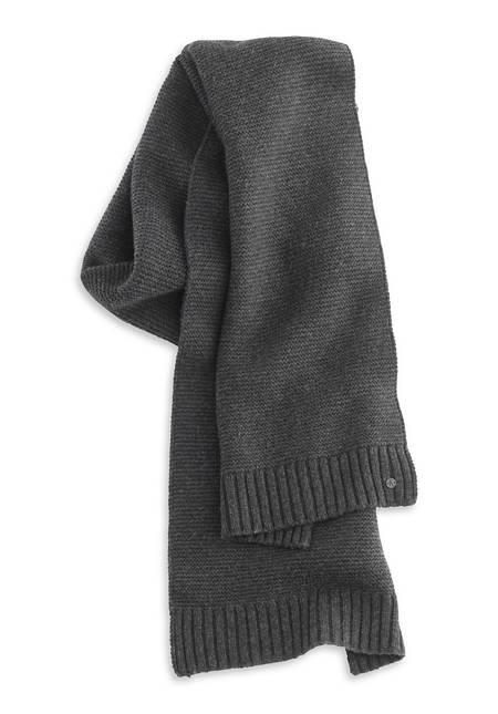 Herren Schal aus Schurwolle mit Kaschmir
