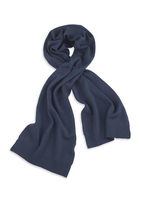 Herren Schal aus reiner Merinowolle