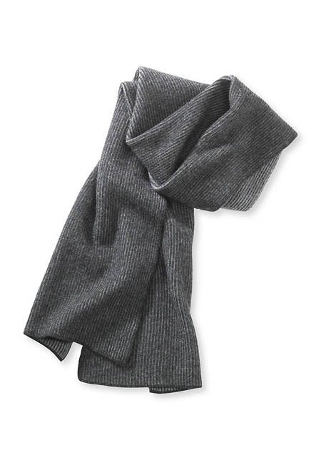 Herren Schal aus reiner Schurwolle