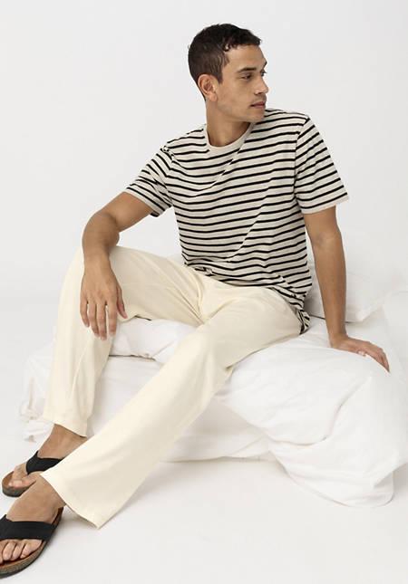 Herren Schlafhose PureNATURE aus reiner Bio-Baumwolle