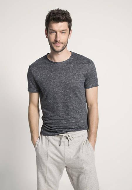 Herren Shirt aus reinem Leinen