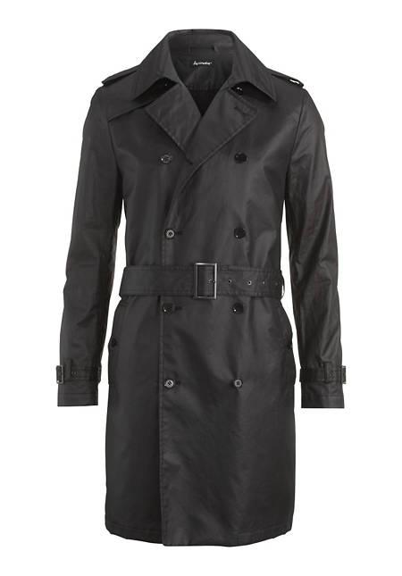 Herren Trenchcoat aus reiner Bio-Baumwolle