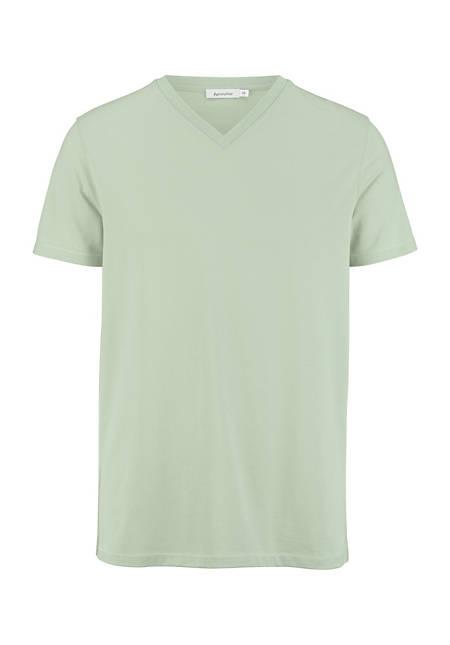 Herren V-Shirt aus reiner Bio-Baumwolle