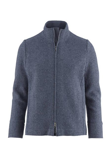Herren Walk-Jacke aus reiner Schurwolle
