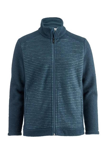 Herren Wollfleece Jacke aus reiner Bio-Merinowolle
