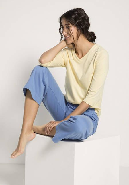 Hose aus Bio-Baumwolle und Kapok