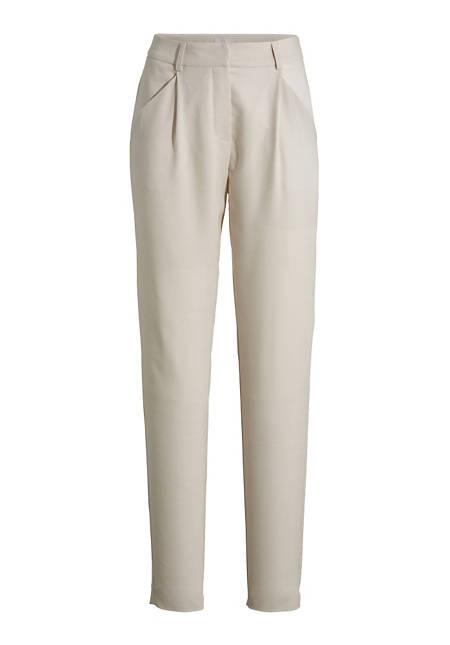 Hose aus Modal mit Schurwolle
