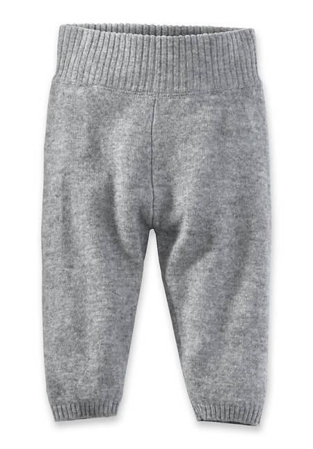 Hose aus Schurwolle mit Kaschmir