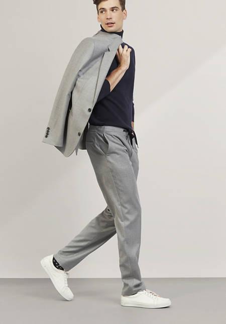 Hose aus reiner Schurwolle