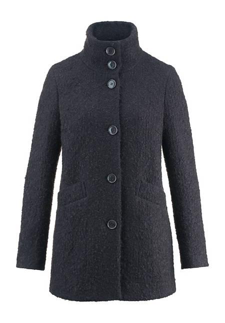 Jacke aus Mohair mit Schurwolle